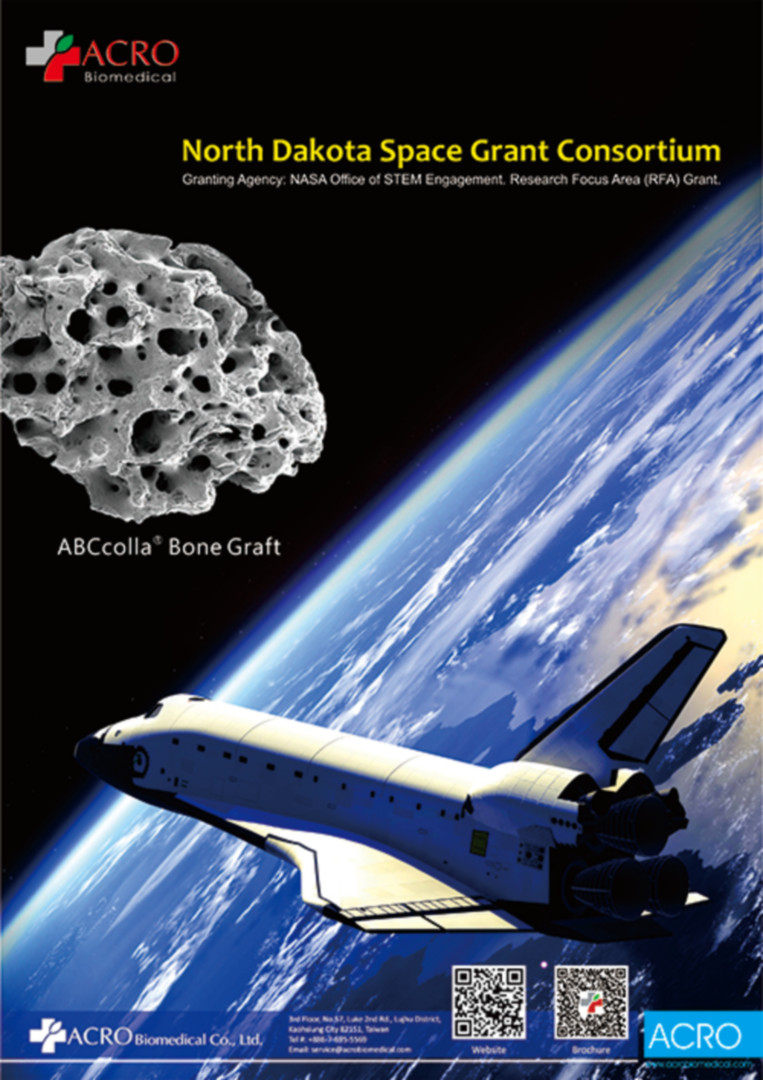 The First Biomaterial in the World Participating NASA Space Project